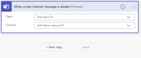 Step 3: Teams Setup