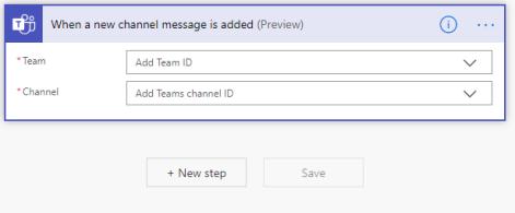 Step 3: Teams Setup