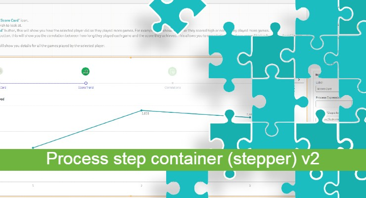 qlik sense process step container v2