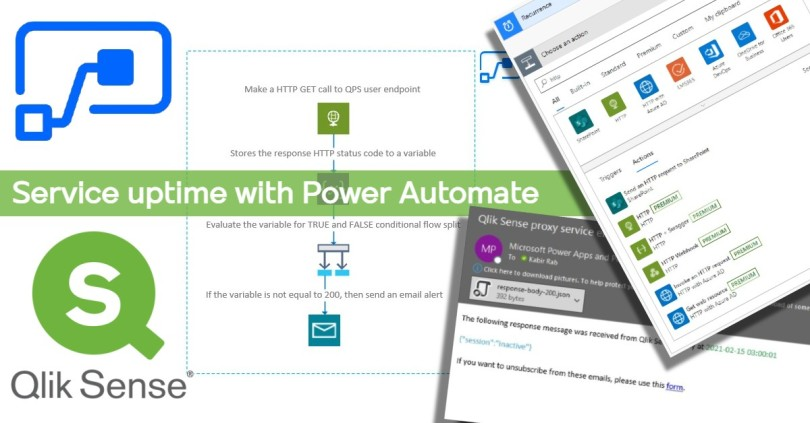 qlik-sense-power-automate-uptime-notification